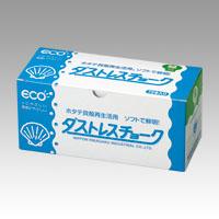 (まとめ) チョーク 日本理化学 ダストレスチョーク 緑 DCC-72-G 4904085111759 1箱【10×セット】