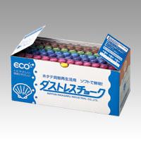 (まとめ) チョーク 日本理化学 ダストレスチョーク DCC-72-6C 4904085111780 1箱【10×セット】