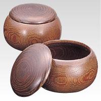 【単品】 囲碁 クラウン 碁笥 CR-GO51 4953349100169 ●規格:特大型,9mm厚用●材質:木,栗