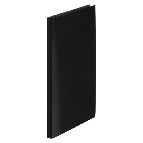 (まとめ) クリヤーファイル(ポケット差し替え式) キングジム レザフェス クリアーファイル 黒 1931LFクロ 4971660020140 1冊【10×セット】
