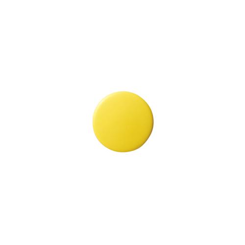 (まとめ) マグネット用品 クラウン カラーマグタッチ 再生ABS製 黄色 CR-MG15-YX10 4953349060050 ●径15×厚7mm 1枚【50×セット】