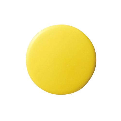 【スーパーセールでポイント最大44倍】(まとめ) マグネット用品 クラウン カラーマグタッチ 再生ABS製 黄色 CR-MG35-YX5 4953349060296 ●径35×厚8mm 1枚【30×セット】