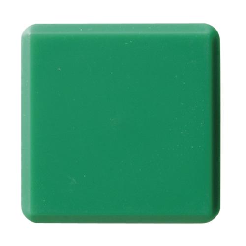 (まとめ) マグネット用品 クラウン カラーマグタッチ 再生ABS製 緑 CR-MG33-GX10 4953349060463 ●縦30×横30×厚8mm 1枚【20×セット】