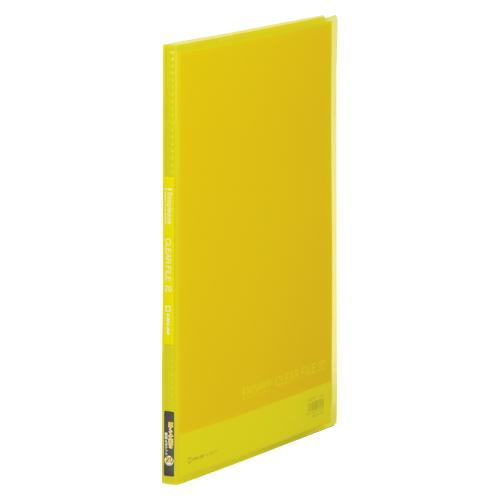 (まとめ) クリヤーファイル(ポケット溶着式) キングジム シンプリーズ クリアーファイル(透明) 黄色 186TSPキイ 4971660027262 1冊【50×セット】
