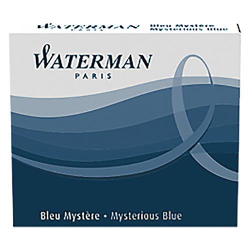 筆記具 インク 完全送料無料 クーポン配布中 まとめ ウォーターマン ミステリアスブルー S2270220 セットアップ 1個 S0110910 3034325200798 10×セット