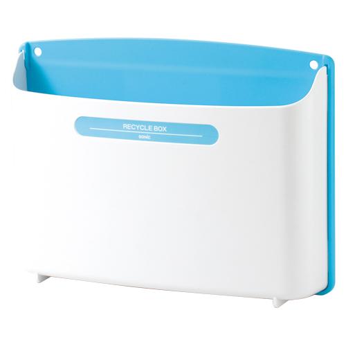(まとめ) ゴミ箱 ソニック リサイクルボックス 青 MP-693-B 4970116031006 1個【10×セット】