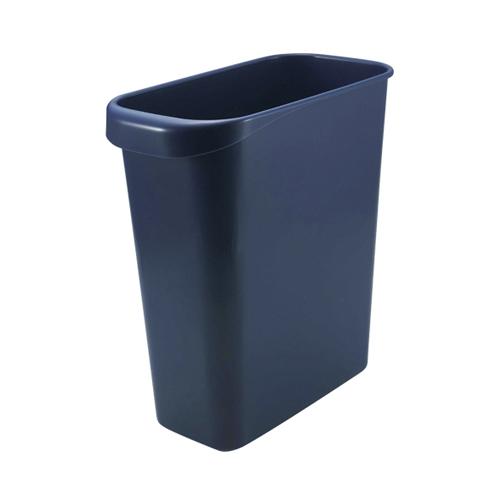 (まとめ) ゴミ箱 リス WORK&WORK 屑入れ ダークブルー GGYC724 4971881151043 ●外寸:幅147×奥274×高300mm●容量:8l 1個【20×セット】