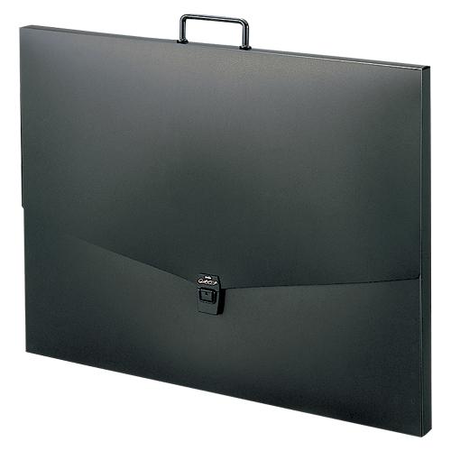 (まとめ) 大判キャリングバッグ セキセイ アルタートケース ブラック ART-900-60 4974214104006 ●規格:A2判 1個【5×セット】