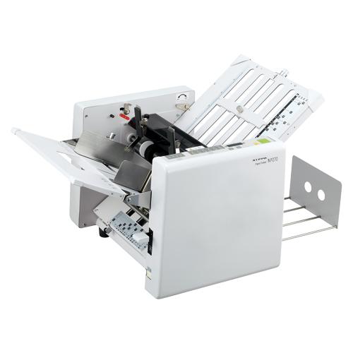 【単品】 紙折り機 NIPPO 自動紙折り機 白 NP270A 4938692037881 ●仕様:標準排紙型