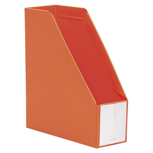 (まとめ) ファイリングボックス セキセイ アドワン ボックスファイル オレンジ AD-2650-51 4974214163577 1冊【30×セット】
