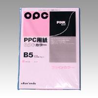 (まとめ) コピー用紙(カラー用紙) 文運堂 OPCファインカラー ピンク カラー325 4902681773258 1個【50×セット】