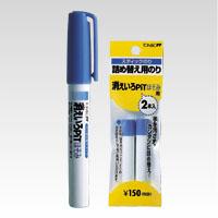 (まとめ) スティックのり トンボ鉛筆 消えいろピットほそみ PT-PC 4901991651447 ●仕様:本体 1本【100×セット】