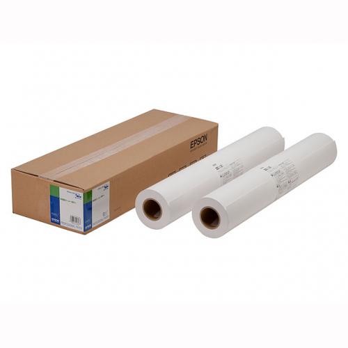 (まとめ) 大判インクジェット用紙 エプソン 大判ロール紙 EPPP9024 4988617126183 ●サイズ:幅610mm×長50m 1箱【5×セット】