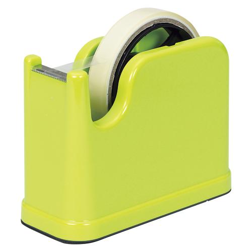 (まとめ) テープカッター ナカバヤシ テープカッター グリーン NTC-201G 4902205503408 1個【30×セット】