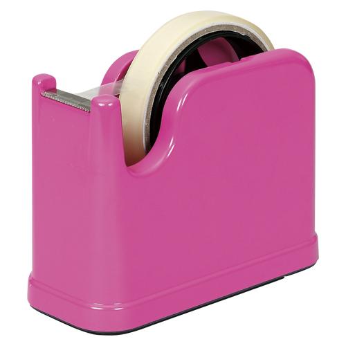 (まとめ) テープカッター ナカバヤシ テープカッター ピンク NTC-201P 4902205502975 1個【30×セット】