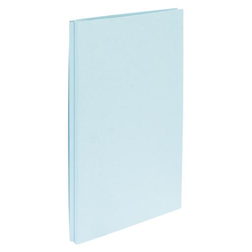 (まとめ) 背幅伸縮式ファイル クラウン カラーエィナーエコノミー ブルー CR-AN1170-BL 4953349084650 ●穴数:2穴 1冊【50×セット】