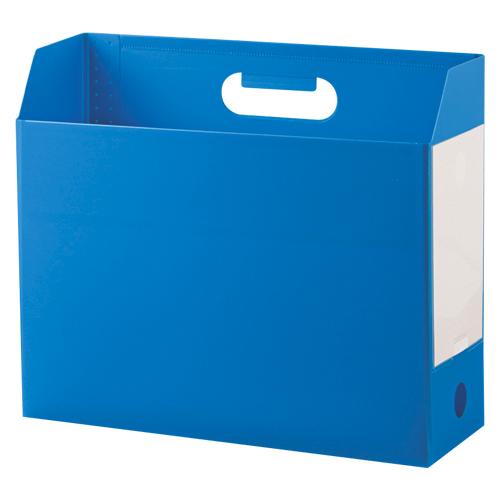 (まとめ) ファイリングボックス セキセイ アドワン ボックスファイル ブルー AD-2651-10 4974214163614 1冊【30×セット】