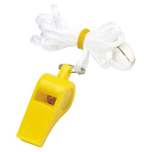 (まとめ) 呼子笛 銀鳥産業 カラーホイッスル 黄色 YO-CWYF(041-057) 4973107041572 1個【100×セット】