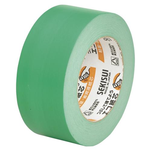 (まとめ) クラフトテープ セキスイ カラークラフトテープ 緑 K50WM13 4901860180115 ●寸法:幅50mm×長50m 1巻【30×セット】