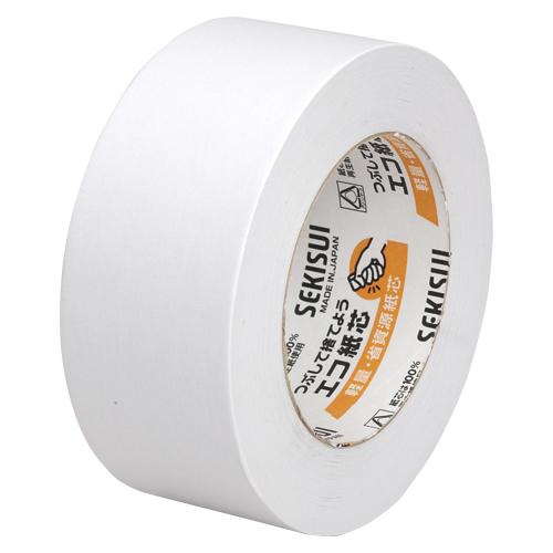 (まとめ) クラフトテープ セキスイ カラークラフトテープ K50WW13 4901860180078 ●寸法:幅50mm×長50m 1巻【30×セット】