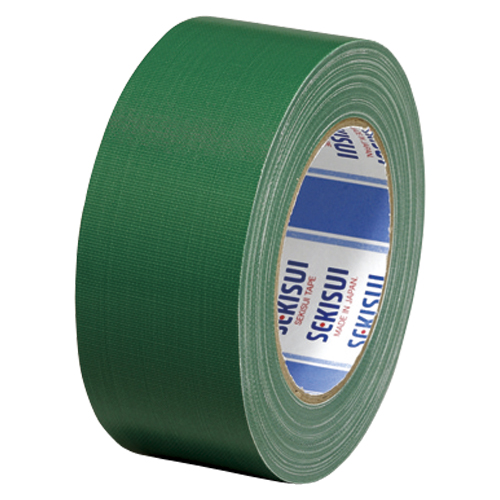 (まとめ) 布テープ セキスイ カラー布テープ ハイグレード 緑 N60M03 NO600 50X25ミト 4901860105118 1巻【20×セット】