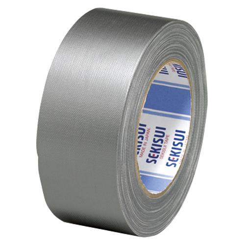 (まとめ) 布テープ セキスイ カラー布テープ ハイグレード 銀色 N60S03 NO600 50X25ギ 4901860105071 1巻【20×セット】