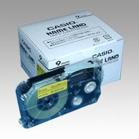 (まとめ) ネームランドテープ カシオ ネームランド用テープカートリッジ XR-9YW-5P-E 4971850139645 ●9mm幅 1個【5×セット】