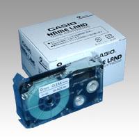 (まとめ) ネームランドテープ カシオ ネームランド用テープカートリッジ XR-9X-5P-E 4971850139614 ●9mm幅 1個【5×セット】