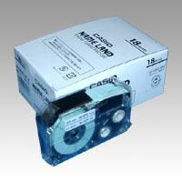 (まとめ) ネームランドテープ カシオ ネームランド用テープカートリッジ XR-18WE-5P-E 4971850139607 ●18mm幅 1個【5×セット】