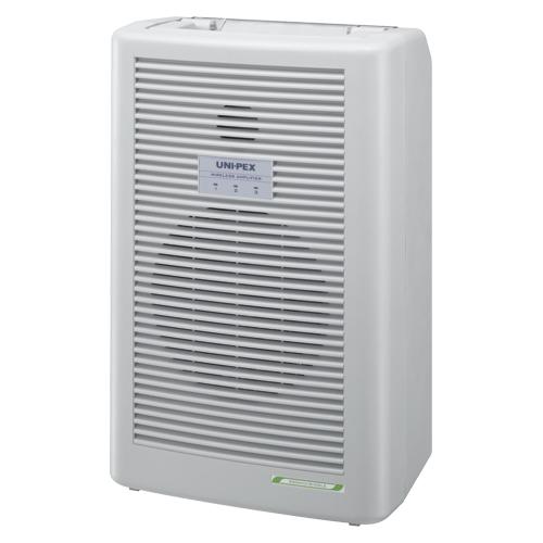 【単品】 ワイヤレスアンプセット ユニペックス ワイヤレスアンプ(300MHz) ライトグレー WA-361A 4560142100731 ●規格:シングル方式
