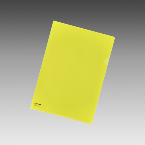 (まとめ) クリヤーホルダー リヒトラブ カラークリヤーホルダー 黄色 F-78-5 4903419121013 ●縦310×横220mm 1枚【150×セット】