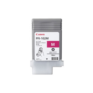PC関連用品 インクジェットカートリッジ スーパーセールでポイント最大44倍 単品 いつでも送料無料 キヤノン マゼンタ PFI-102M 種別:純正 対応機種:iPF510 爆安プライス 4960999299792 iPF610 iPF605L plus