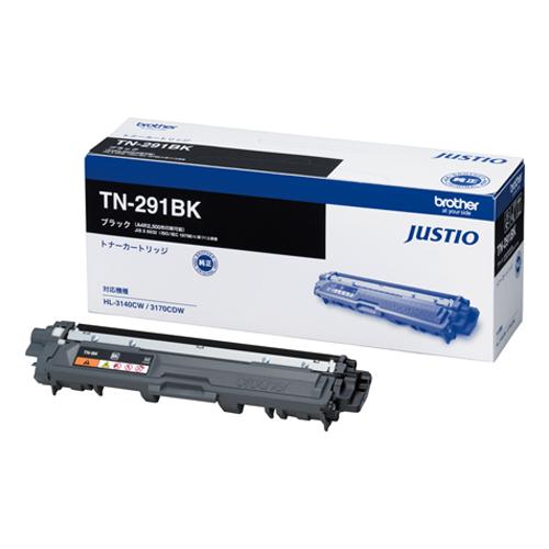 PC関連用品 カラーレーザートナー スーパーセールでポイント最大44倍 単品 ブラザー ブラック 種別:純正 4977766719308 推奨 MFC-9340CDW TN-291BK 対応機種:HL-3170CDW 4年保証