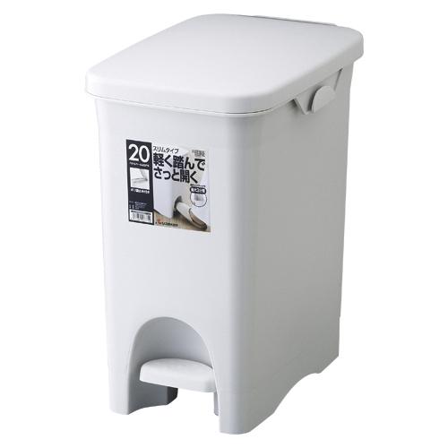 (まとめ) ゴミ箱 リス HOME&HOME ペタルペール グレー GPRB035 4971881137719 ●外寸:幅265×奥400×高430mm●容量:22l 1個【5×セット】