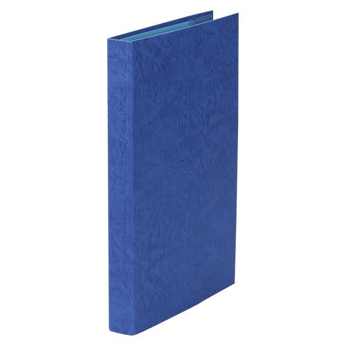 (まとめ) 証書ホルダー 美濃商会 証書ファイル(レザックブック) 紺色 8262 4513906082620 ●規格:A3判 1冊【20×セット】