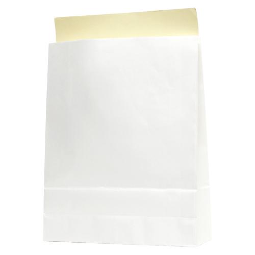 (まとめ) 梱包用封筒 シモジマ HEIKO N宅配袋 白 004192411 4901755363197 ●規格:L(B4判用)●外寸:縦400×横320×マチ110mm 1束【10×セット】