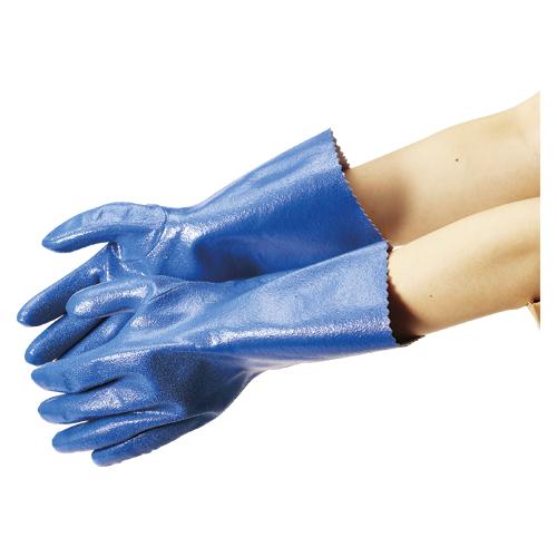 (まとめ) 作業用手袋 エステー No.630ニトリルモデルロング 160659 4901070751754 ●全長:300mm●サイズ:LL 1双【20×セット】