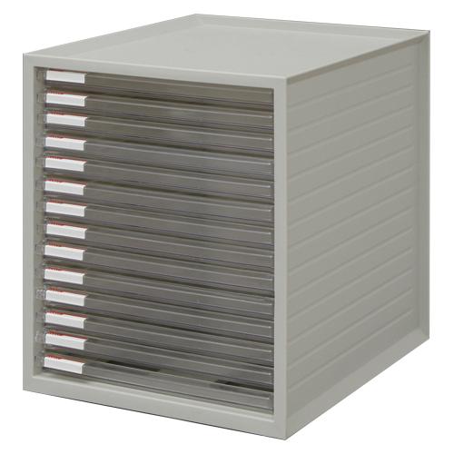 (まとめ) レターケース アイリスオーヤマ レターケース ホワイト LCE-14S 4905009799640 ●規格:超浅型14段 1個【5×セット】