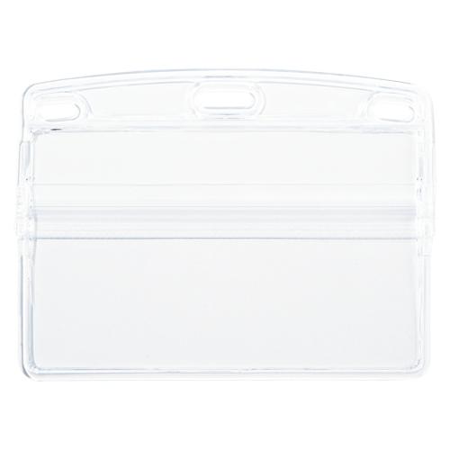 (まとめ) 名札 オープン 名札ケース NX-105 4970115560705 1袋【10×セット】
