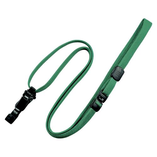 (まとめ) 名札用ストラップ オープン ループクリップ 緑 NX-8-GN 4970115559815 1袋【5×セット】