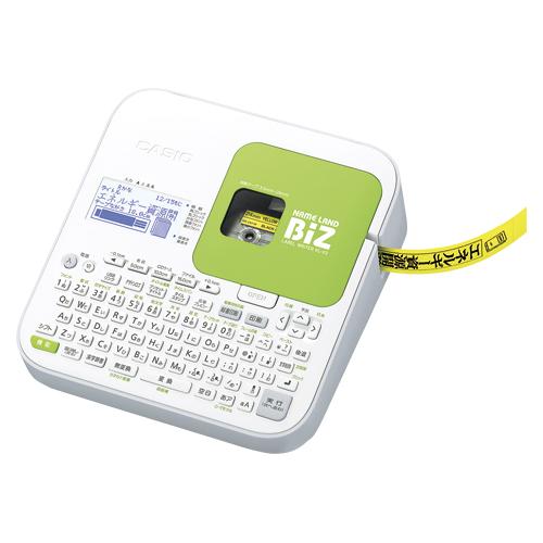 【単品】 ネームランド カシオ ネームランドBizシリーズ ホワイト KL-G2 4971850489290
