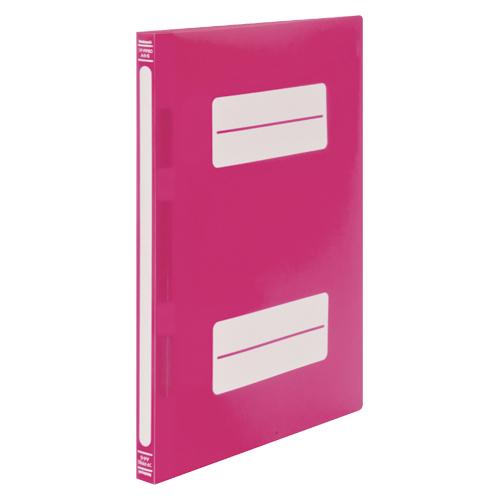 (まとめ) フラットファイル ナカバヤシ フラットファイルPP ピンクC フF-PP80PC 4902205640837 1冊【100×セット】
