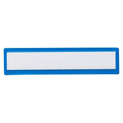 (まとめ) マグネット見出し クラウン マグタッチスライド見出し 青 CR-MG231-BL 4953349080997 ●外寸:縦23×横100×厚1.0mm 1個【100×セット】