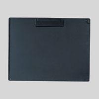 (まとめ) クリップボード オープン クリップボード 再生ABS樹脂製 黒 CB-101-BK 4970115204135 1枚【20×セット】
