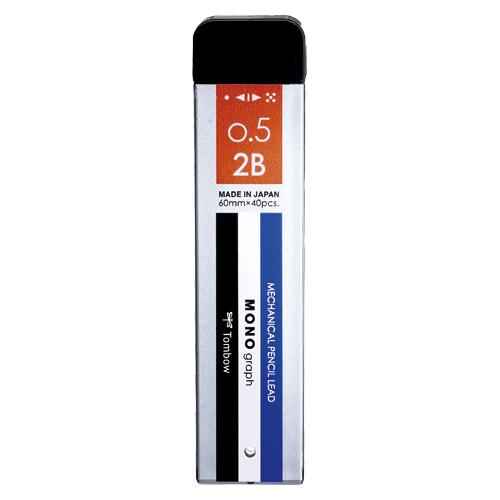 筆記具 シャープ替芯 シャープ芯 モノグラフMG セール開催中最短即日発送 まとめ トンボ鉛筆 4901991032147 R5-MG2B01 硬度:2B 1個 輸入 モノカラー 50×セット