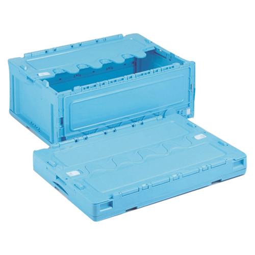 【単品】 折りたたみコンテナ 岐阜プラスチック工業 折りたたみコンテナー ブルー CF-S56NR 4938233605388 ●外寸:幅650×奥440×高261mm●容量:55l