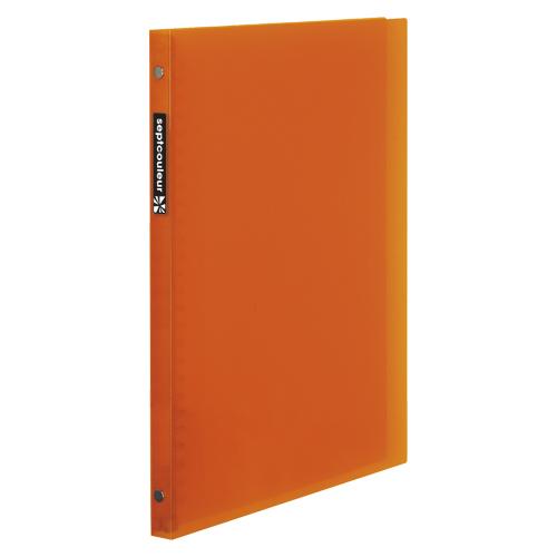 (まとめ) バインダー マルマン セプトクルール オレンジ F007B-09 4979093107865 1冊【30×セット】