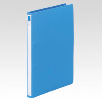 (まとめ) リングファイル リヒトラブ リングファイル 藍色 F-877-9 4903419138783 1冊【30×セット】
