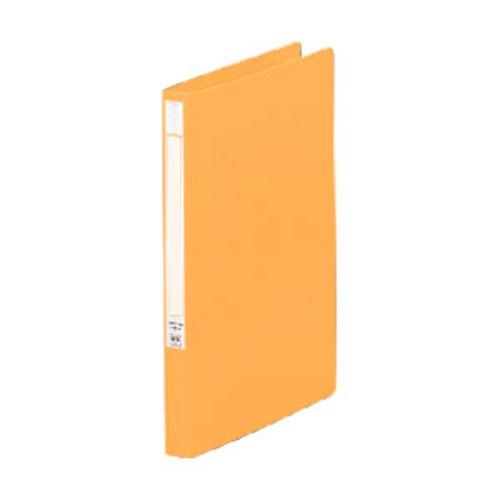 (まとめ) Zファイル リヒトラブ パンチレスファイル・HEAVY DUTY 橙 F-367-3 4903419142360 1冊【30×セット】
