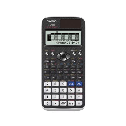 【スーパーセールでポイント最大44倍】(まとめ) 電卓 カシオ 関数電卓 ブラック FX-JP900N 4971850091288 ●重量:約90g 1台【5×セット】